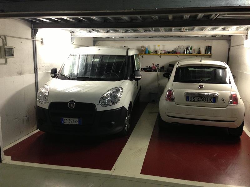 Pavimentazione garage lotus and light cars club